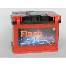Автомобильный аккумулятор  FLASH PREMIUM 62 А/ч (г. Елабуга)