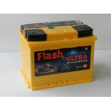 Автомобильный аккумулятор FLASH ULTRA 60 А/ч(Казахстан)