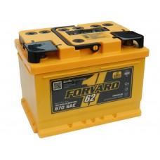 Автомобильный аккумулятор FORVARD (АКОМ) 62 А/ч обр/п низкий