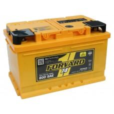 Автомобильный аккумулятор FORVARD (АКОМ) 74 А/ч обр/п низкий