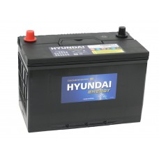 Автомобильный  аккумулятор HYUNDAI 90 А/ч обр/п. (105D31L)