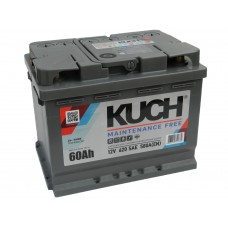 Автомобильный аккумулятор KUCH (АКОМ) 60 А/ч полярность любая