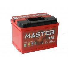 Автомобильный аккумулятор MASTER ROAD 65 А/ч(низкий)