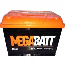 Автомобильный аккумулятор MEGABATT 60 А/ч