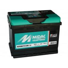 Автомобильный  аккумулятор MIDAC 62 А/ч п/п