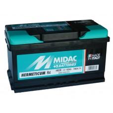 Автомобильный  аккумулятор MIDAC 82 А/ч обр/п низкий