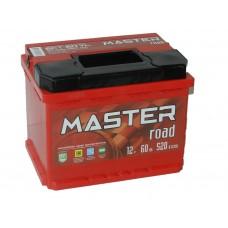 Автомобильный аккумулятор MASTER ROAD 60 А/ч