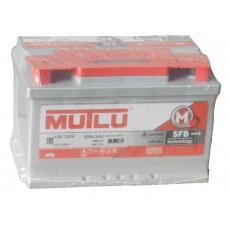 Автомобильный аккумулятор MUTLU 72 А/ч  низкий