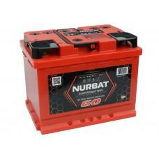 Автомобильный аккумулятор NURBAT (АКОМ) 60 А/ч полярность любая