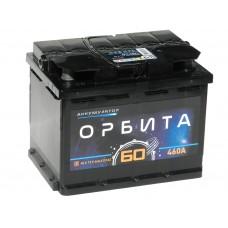Автомобильный аккумулятор ОРБИТА 60 А/ч