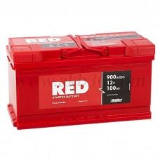 Автомобильный аккумулятор RED 100 А/ч
