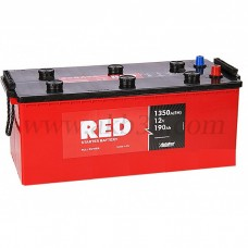 Автомобильный аккумулятор RED 190 А/ч