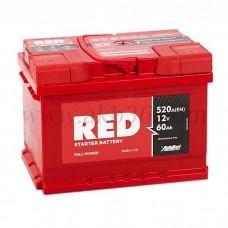 Автомобильный аккумулятор RED 60 А/ч