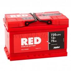 Автомобильный аккумулятор RED 75 А/ч