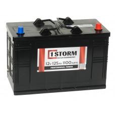 Автомобильный аккумулятор STORM Power 125 А/ч обр/п