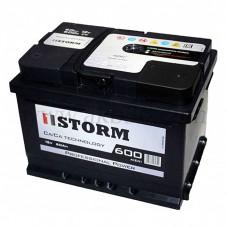 Автомобильный аккумулятор STORM 60 А/ч(низкий)