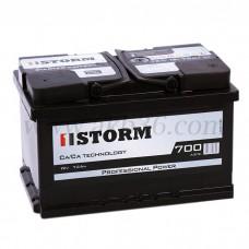 Автомобильный аккумулятор STORM 72 А/ч(низкий)