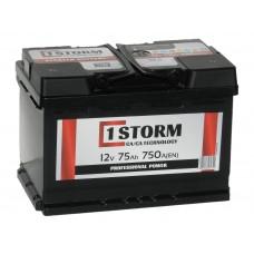 Автомобильный аккумулятор STORM 75 А/ч