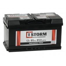 Автомобильный аккумулятор STORM 85 А/ч