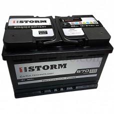 Автомобильный аккумулятор STORM 88 А/ч