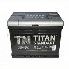 Автомобильный аккумулятор TITAN 60 А/ч