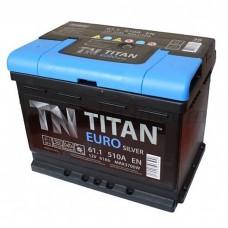 Автомобильный аккумулятор TITAN 61 А/ч
