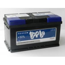 Автомобильный аккумулятор TOPLA Top 85 А/ч(низкий)