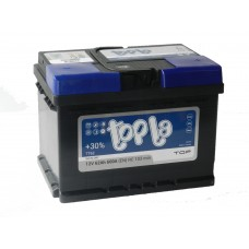 Автомобильный аккумулятор TOPLA TOP 62 А/ч(низкий)