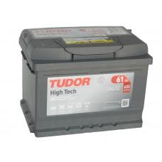 Автомобильный аккумулятор TUDOR 61 А/ч обр/п низкий(EXIDE)