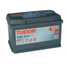 Автомобильный аккумулятор TUDOR 72 А/ч низкий (EXIDE)