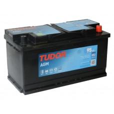 Автомобильный аккумулятор TUDOR  95 А/ч AGM(EXIDE)
