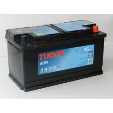 Автомобильный аккумулятор TUDOR  95 А/ч AGM