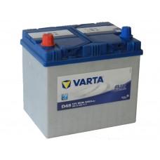 Автомобильный аккумулятор VARTA BLUE DYNAMIC 60 А/ч (D48)