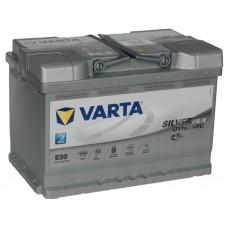 Автомобильный аккумулятор VARTA Silver Dynamic AGM 70 А/ч (E39)