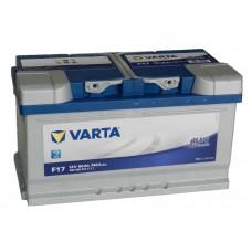 Автомобильный аккумулятор VARTA Blue Dynamic 80 А/ч (низкий)