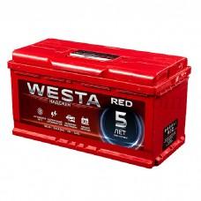 Автомобильный аккумулятор WESTA red 100 А/ч