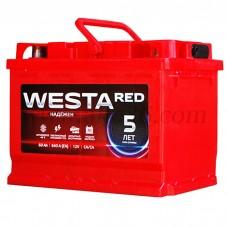 Автомобильный аккумулятор WESTA red 60 А/ч