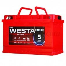 Автомобильный аккумулятор WESTA red 74 А/ч