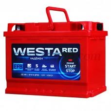Автомобильный аккумулятор WESTA red EFB 65 А/ч