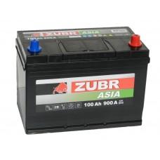 Автомобильный аккумулятор ZUBR AZIA 100 А/ч обр/п.