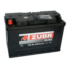 Автомобильный аккумулятор ZUBR Professional 120 А/ч п/п