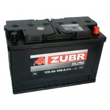 Автомобильный аккумулятор ZUBR Professional 120 А/ч обр/п