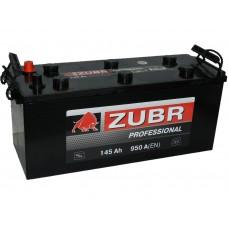 Автомобильный аккумулятор ZUBR 145 А/ч