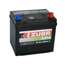 Автомобильный аккумулятор ZUBR Premium AZIA 65 А/ч