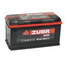 Автомобильный аккумулятор ZUBR AGM 95 А/ч обр/п.