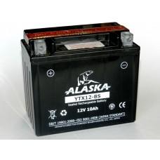Аккумулятор ALASKA 12 В 10 А/ч AGM YTX12-BS