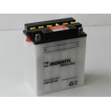 Аккумулятор MORATTI 12В 12 А/ч 12N12A-4A
