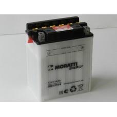 Аккумулятор MORATTI 12В 14 А/ч YB14-A2