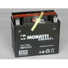 Аккумулятор MORATTI 12В 10 А/ч AGM MEP12X12