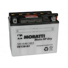 Аккумулятор MORATTI 12В 12 А/ч YB12B-B2